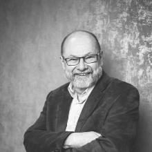 Das ist ein Photo von Professor Peter Knabner