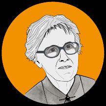 Logo Anneliese Niethammer – the first female professor at the University of Stuttgart