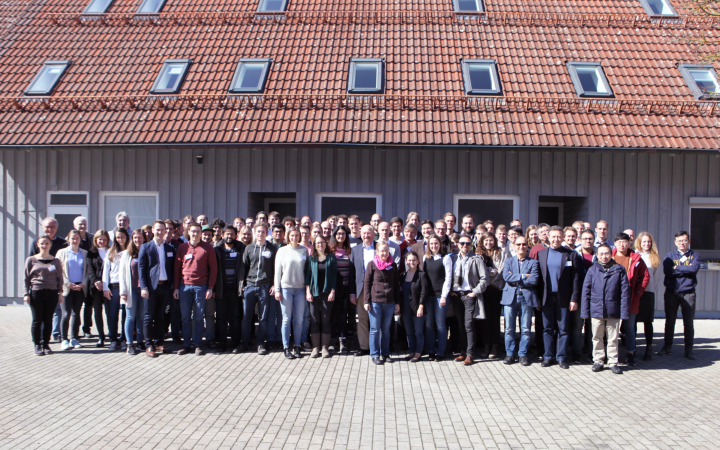 Group picture of the SFB 1313 Status Semiar 2019 in Blaubeuren (c)