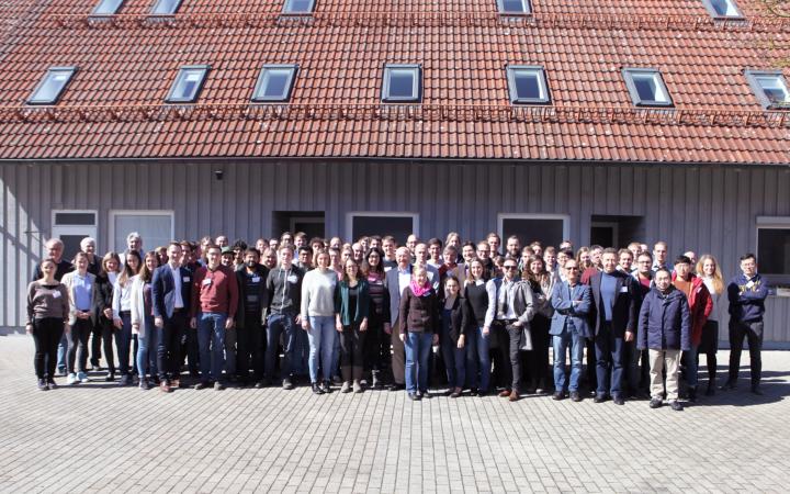 Group picture of the SFB 1313 Status Semiar 2019 in Blaubeuren